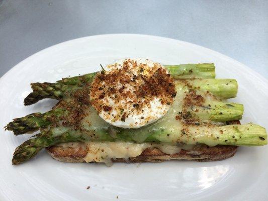 asparagus sandwich