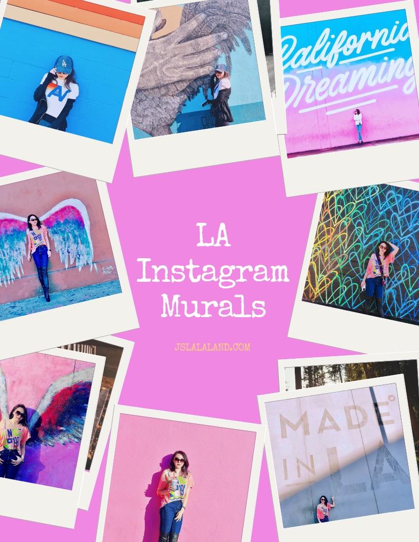 [時尚洛杉磯] The Most Instagrammable Walls in LA- 最時尚、必拍洛杉磯IG網美塗鴉牆/網紅牆全攻略