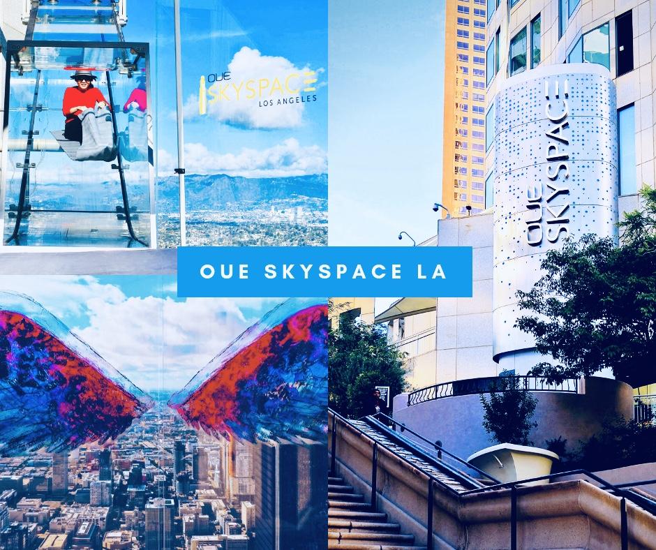 [時尚旅遊洛杉磯] 洛杉磯秘密網美景點— LA高樓OUE Skyspace LA 天空觀景台賞美景+玻璃天空滑梯